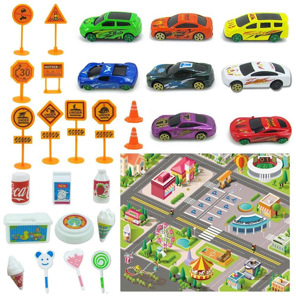 jouets tapis circuit voiture