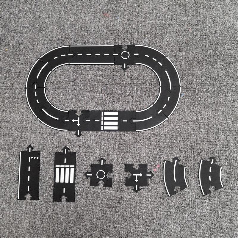 tapis puzzle circuit voiture