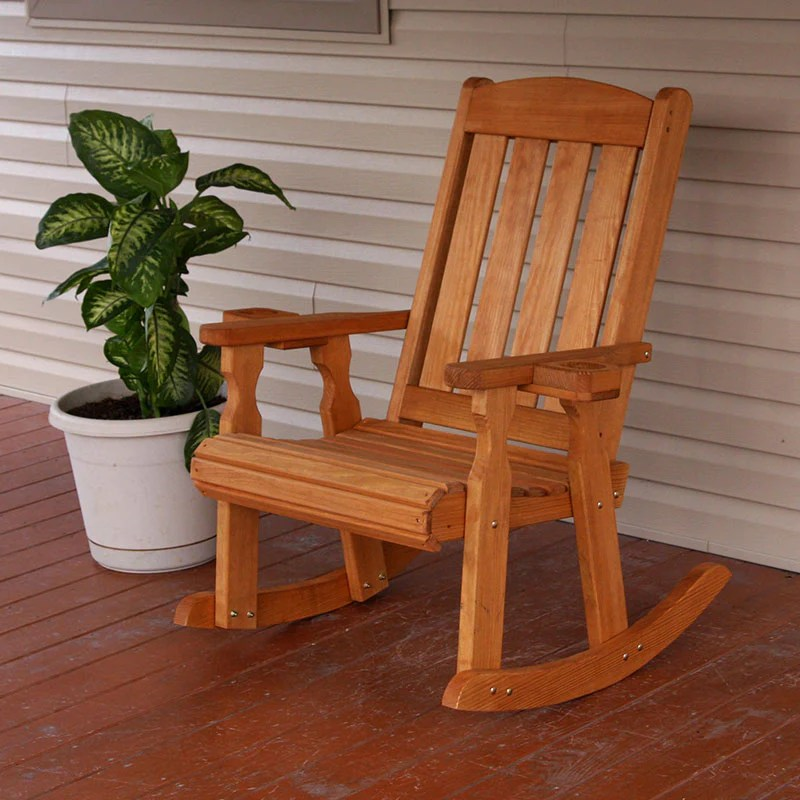 outdoor heavy duty porch rocking chairs