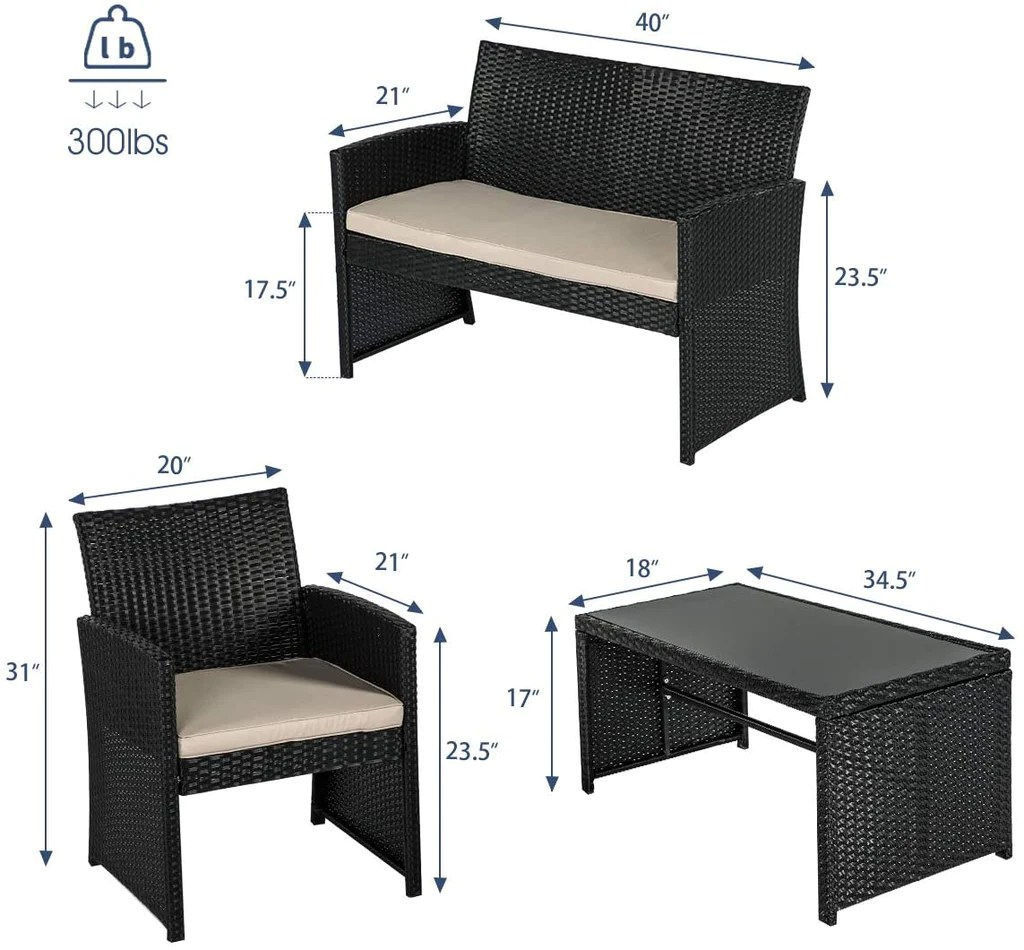 piece wicker home depot patio furniture