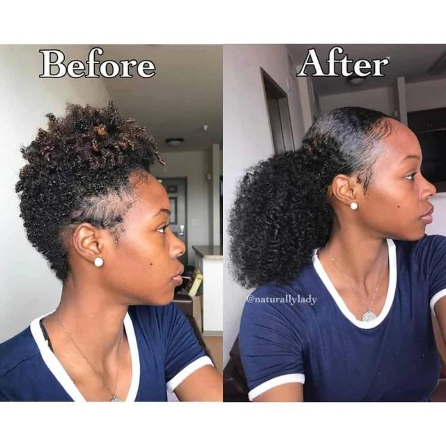 corkscrew curls weave - 3c/4a hair texture