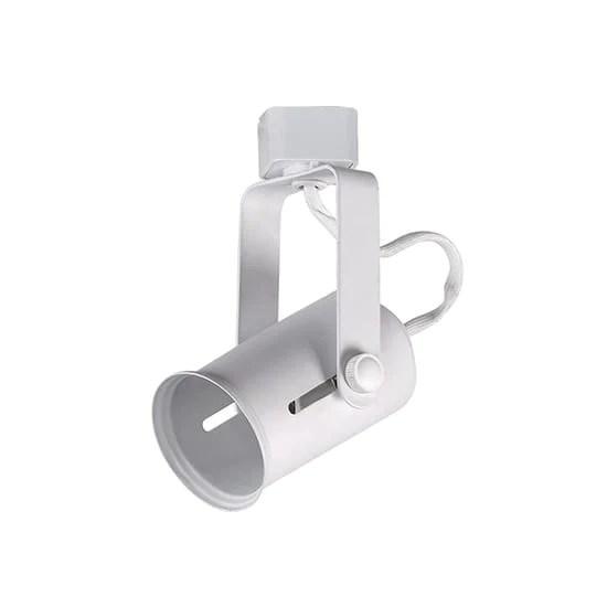 hampton bay 1 light white medium based universal bulb linear track lig home supply inc