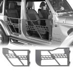 Jeep Jt Half Doors Door Storage Cart For 2020 Jeep Gladiator Bunker 4x4