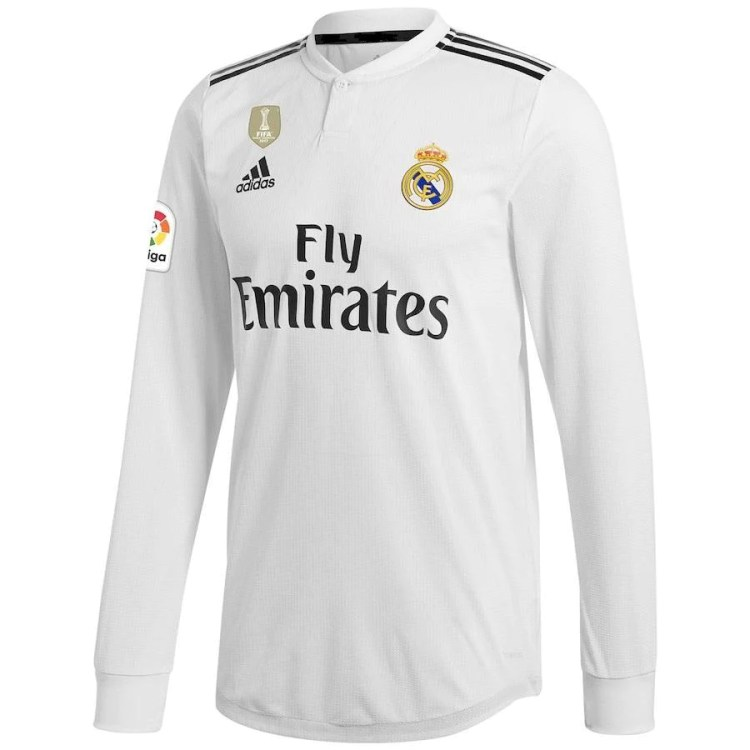 Real Madrid Home Football Jersey New Season 2018-19 kit ...