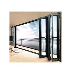 china wdma aluminum bi folding glass doors aluminium sliding folding patio doors