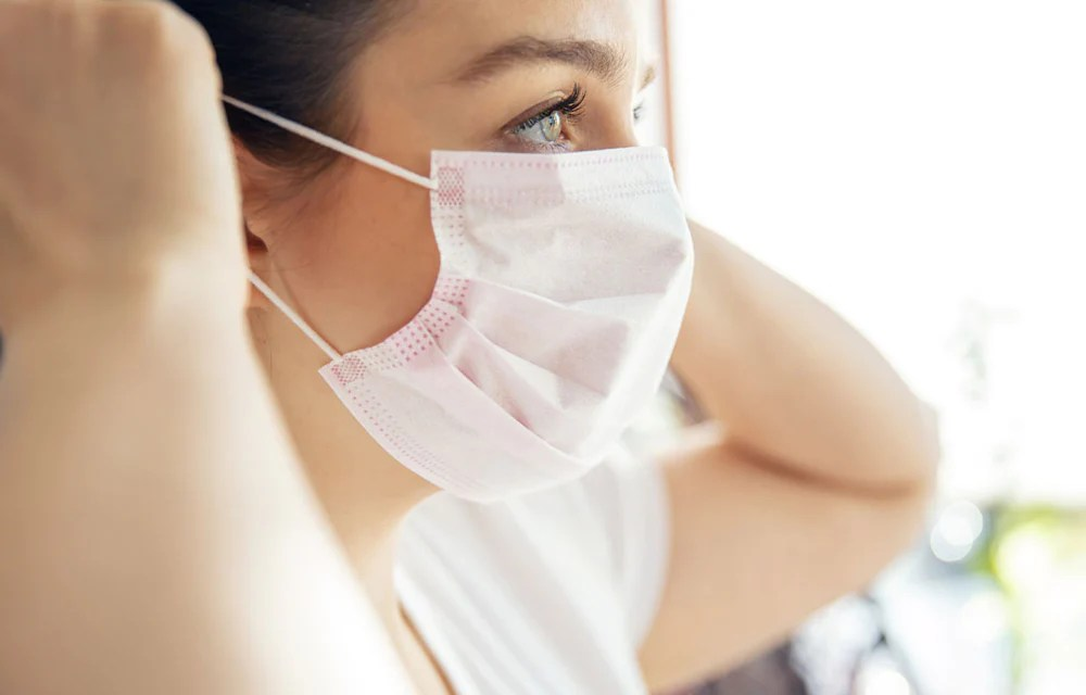 Maskne skin care: is your face mask causing acne?   Green People UK