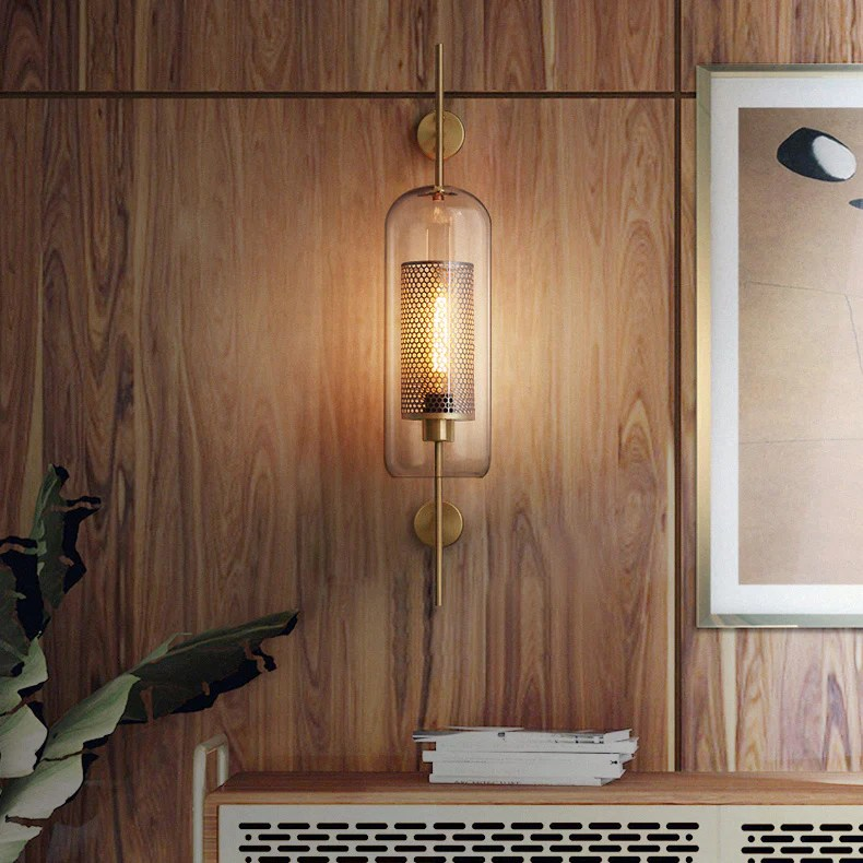 chiswick glass wall light tudo and co