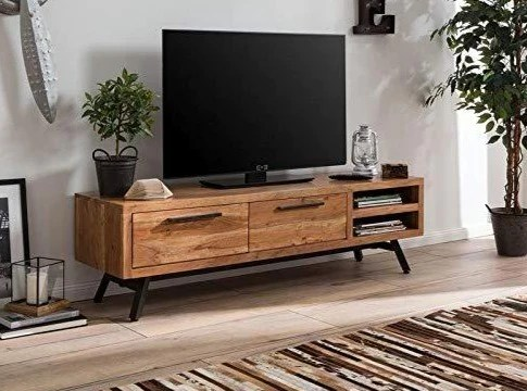 G Fine Furniture Wooden Tv Stand Wooden Shelf And Drawer Storage T