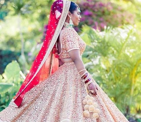Ideas To Drape For Wedding Lehenga Dupatta For Curvy Brides ...