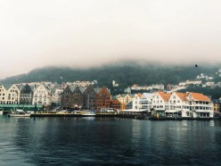 Norway city captured by travel-bug, Gentri Lee.