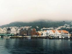 Norway city captured by travel-bug, Gentri Lee.