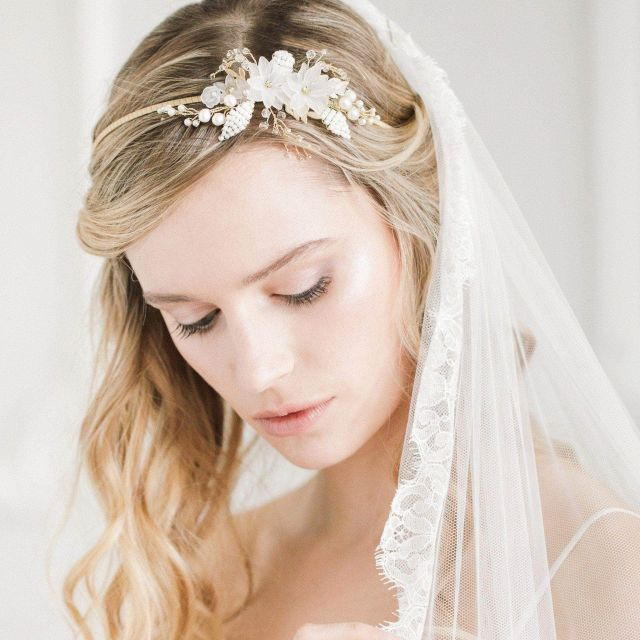 wedding headbands | bridal hair bands | britten weddings uk