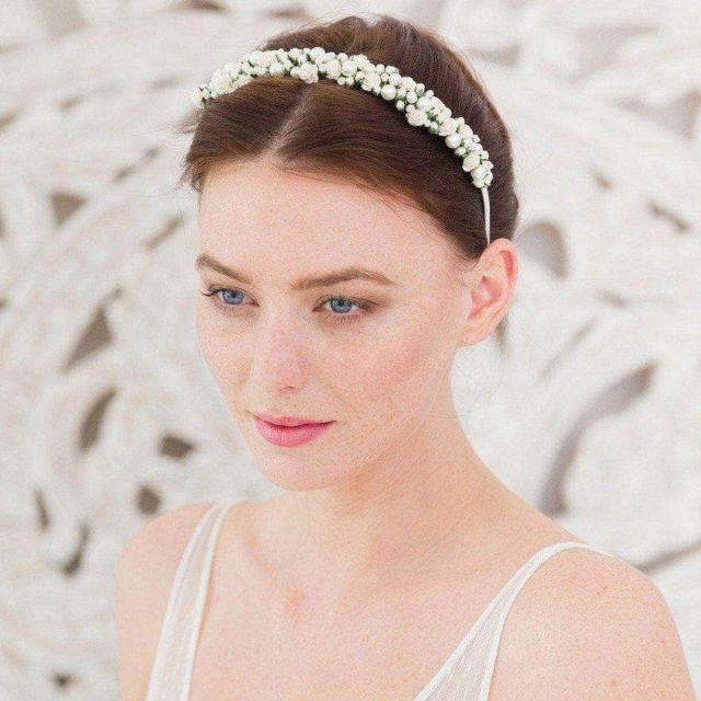wedding headbands | bridal hair bands | britten weddings uk
