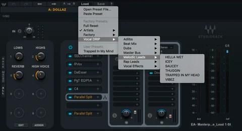 vocal drip waves studiorack presets all daws