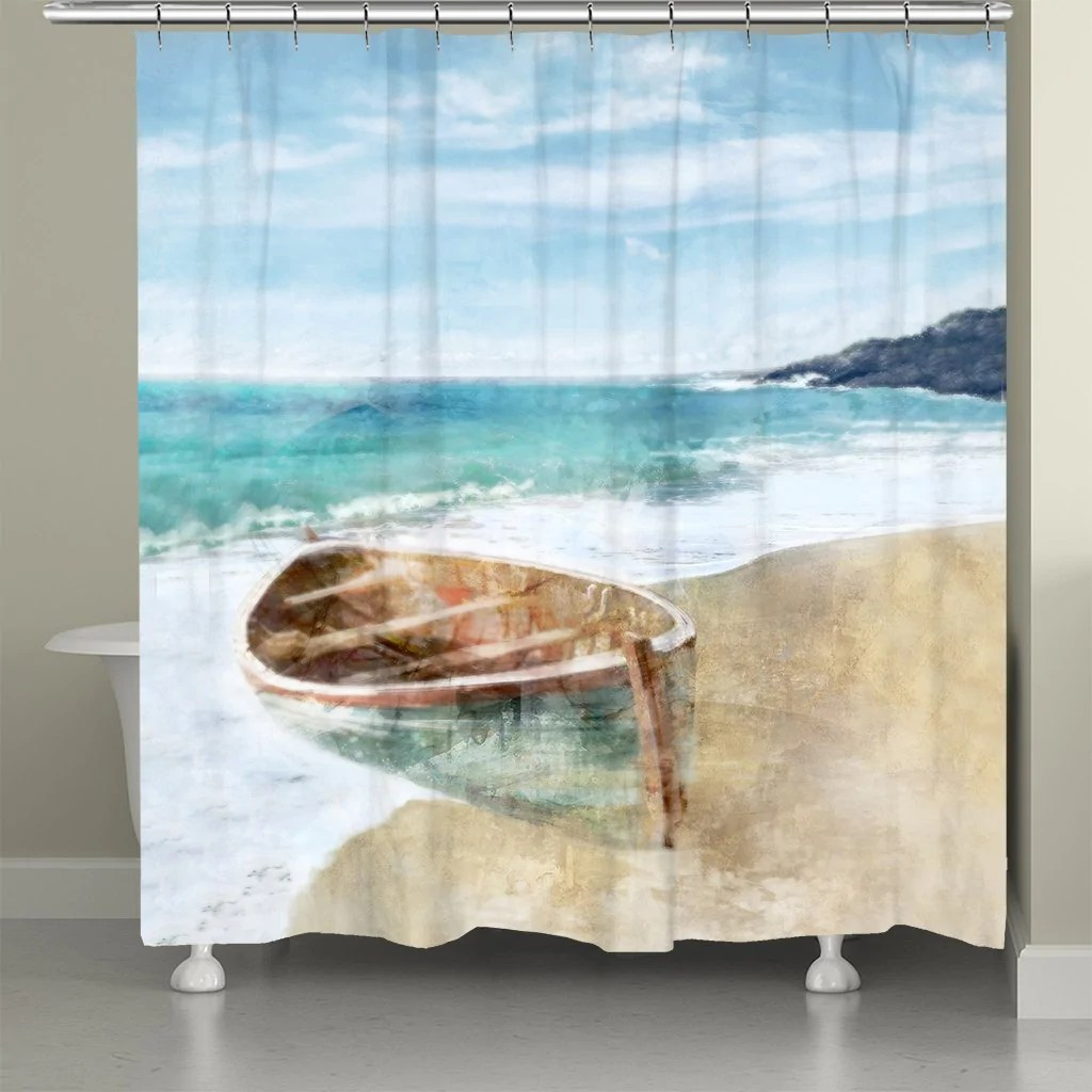 boat ride shower curtain