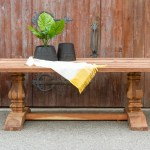Reclaimed Farmhouse Teak Dining Table De Cor Globally Inspired