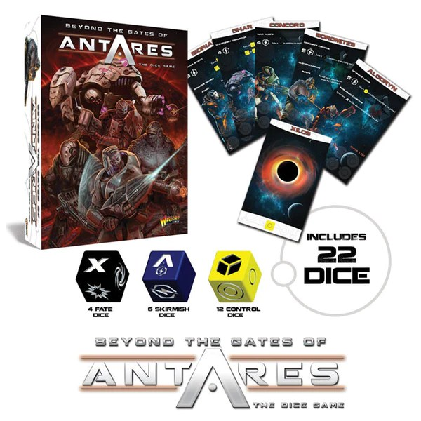 Image result for Beyond the Gates of Antares Dice Game