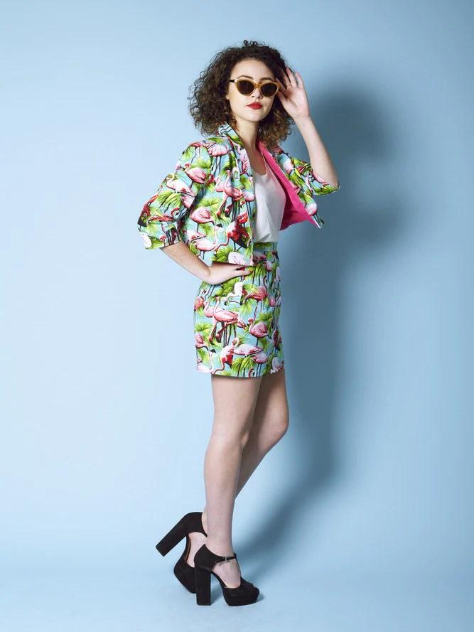 Victoria blazer pattern by By Hand London