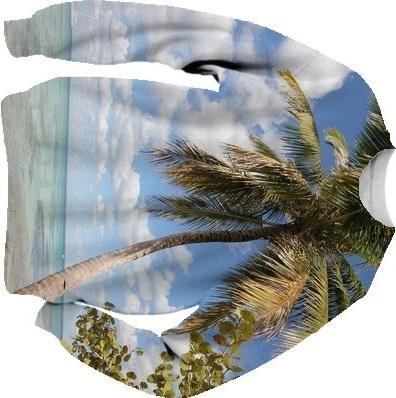 Isla Saona - Palm Tree at the Beach Sweatshirt