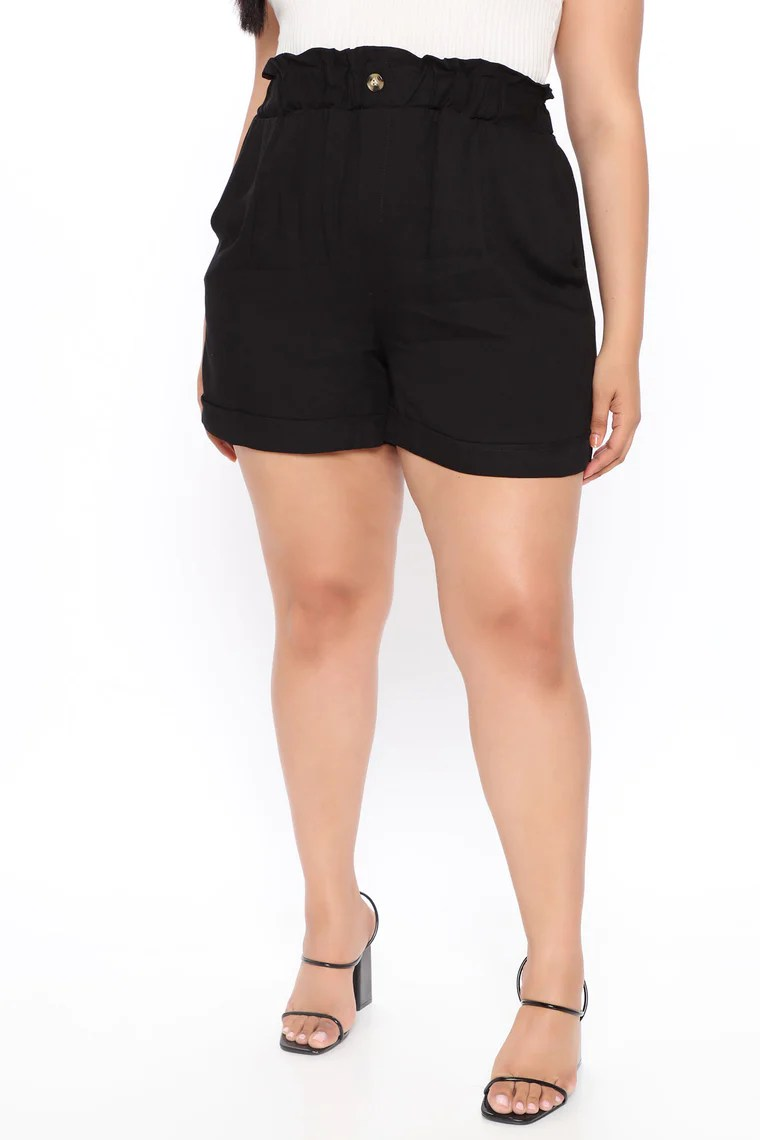 Not Your Shorty Shorts - Black 9