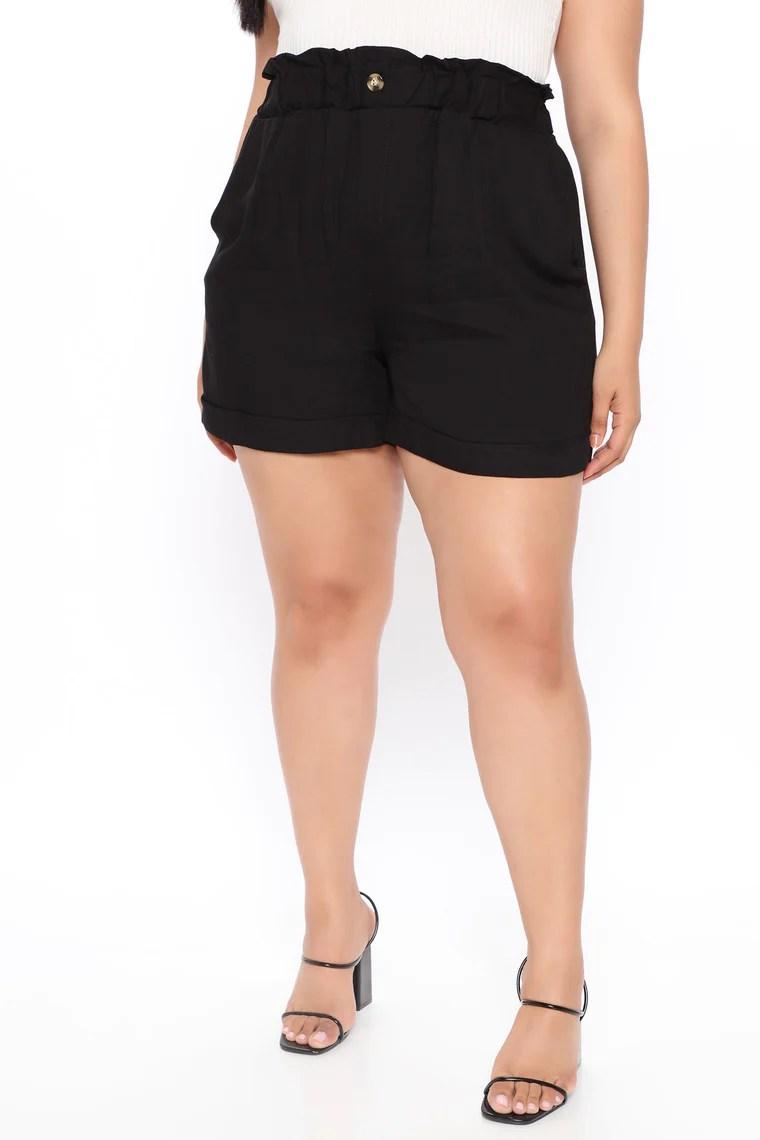 Not Your Shorty Shorts - Black 10
