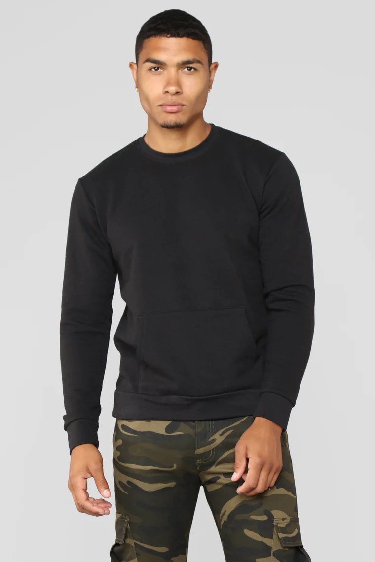 FASHION NOVA MEN - Drexel Crewneck Sweatshirt