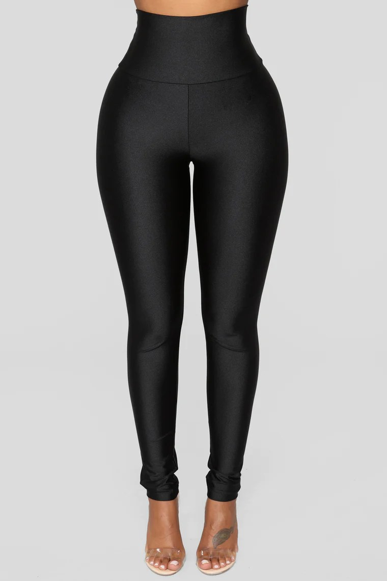 Brianne High Rise Leggings - Black 12