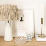 Diy Raffia Lamp Part 2 Sunday Lane