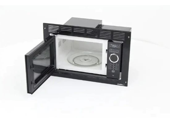 0 9 cu ft black greystone built in microwave with trim kit small kitchen appliances patterer microwave parts