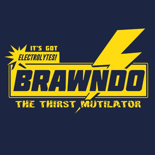 Brawndo T Shirt Movie Related Apparel Textual Tees