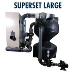 koi pond filtration complete system
