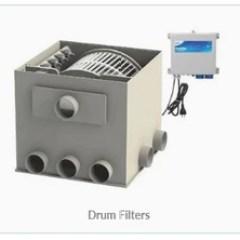 Koi Pond filtration drum filter