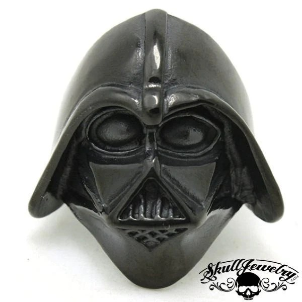 BLACK Darth Vader Stainless Steel Ring 589