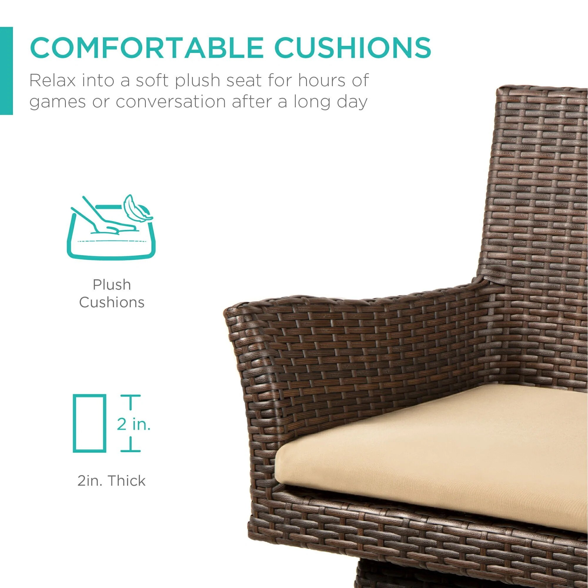 best choice products outdoor patio furniture all weather