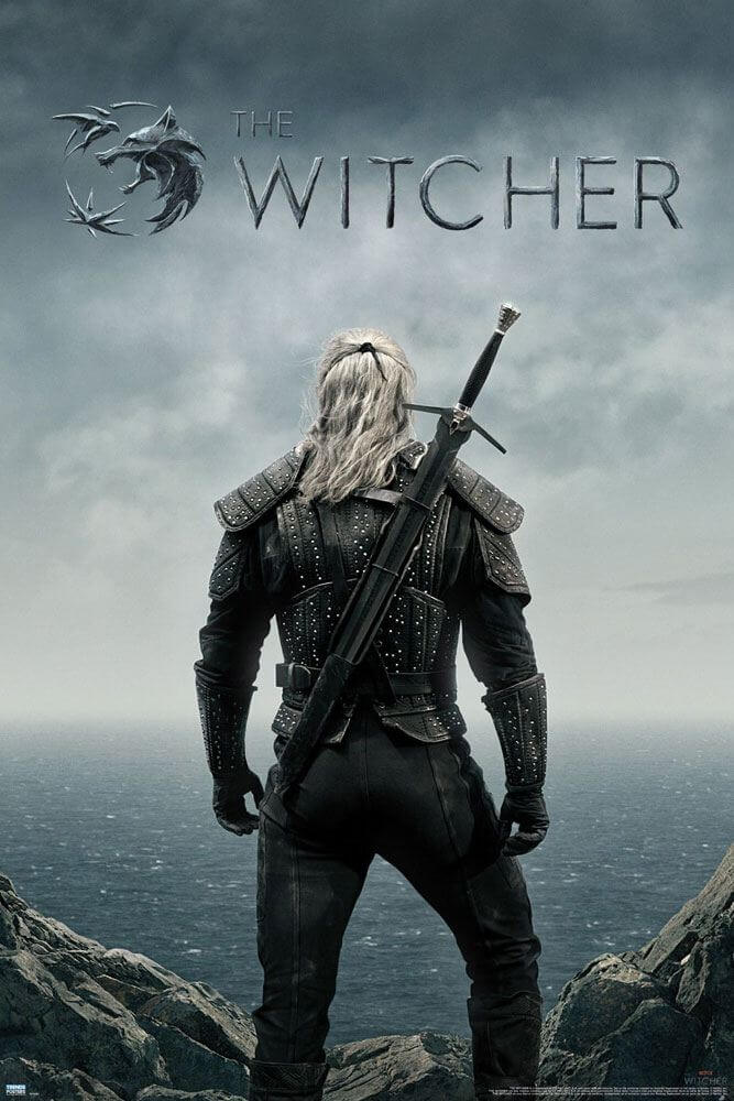 The Witcher Poster Teaser 61 x 91 cm