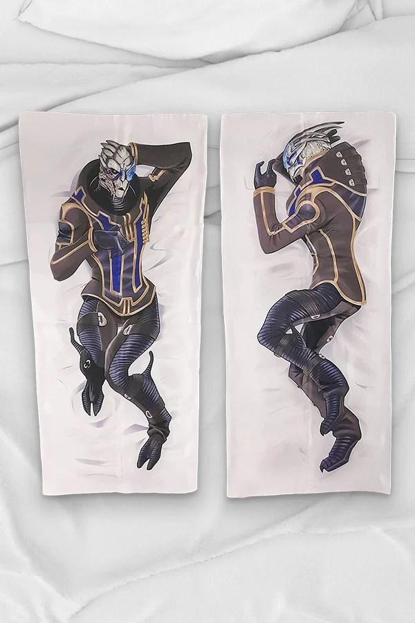 garrus body pillow case