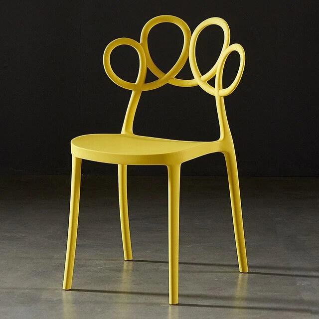 chaise scandinave rare jaune chaises scandinave