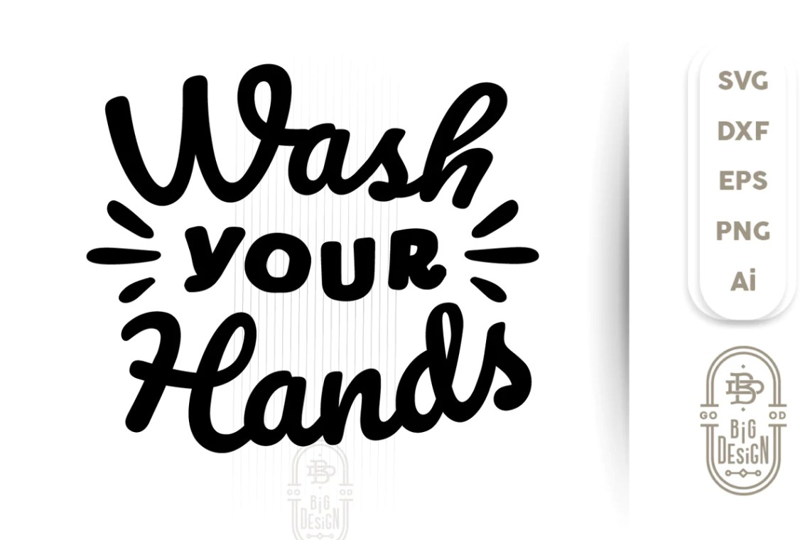 Download Wash your Hands SVG - Stay safe from Corona Svg - - Design ...
