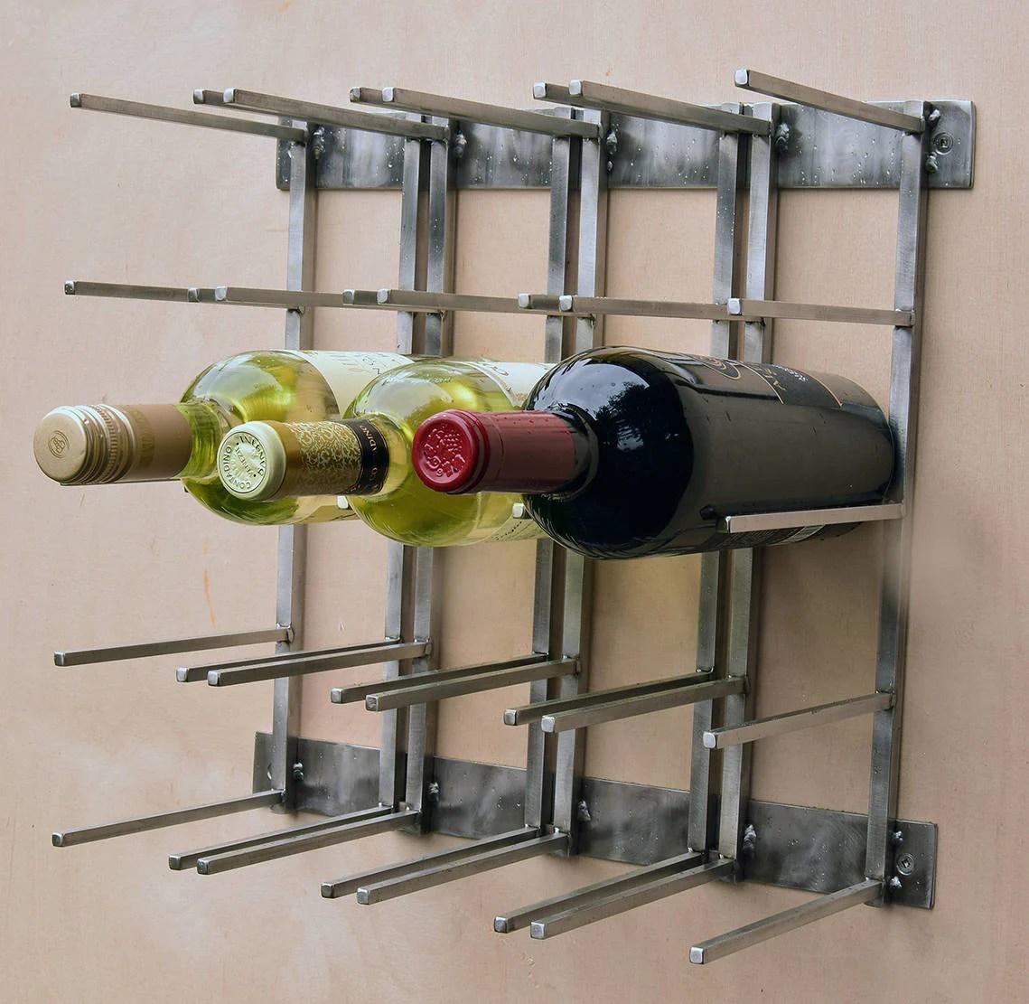steel wine rack modern wine rack stainless steel industrial wine rack