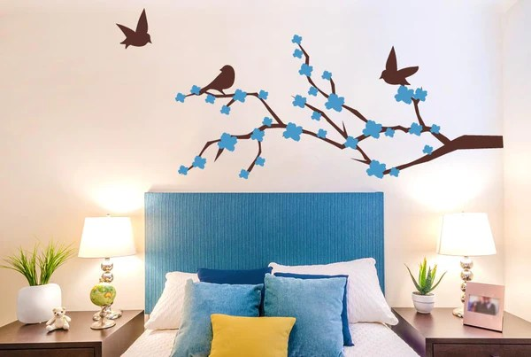 Trees Wall Stickers Uk And Art Decals Cherry Blossom With