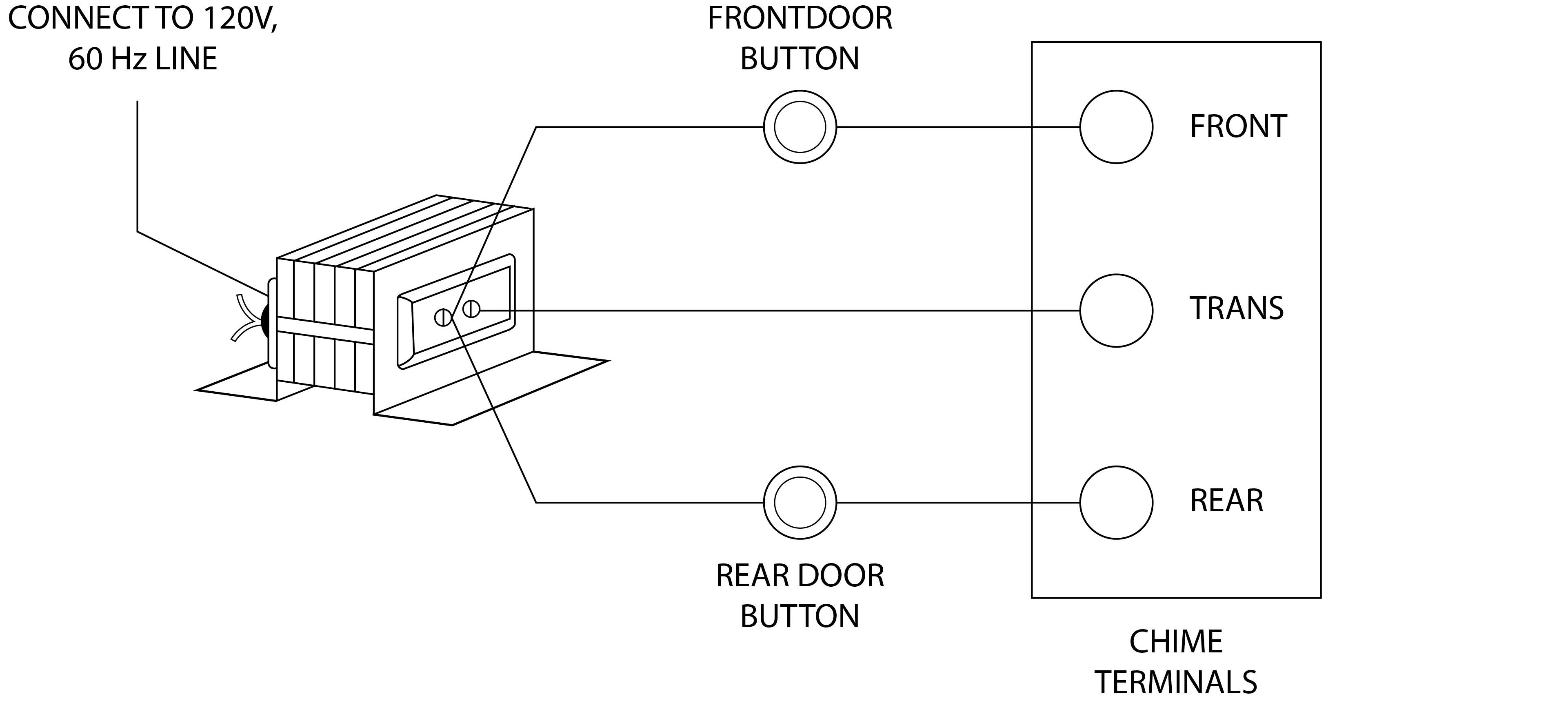 House Doorbell Wiring Doorbell Wiring Colors • Googlea4.com on