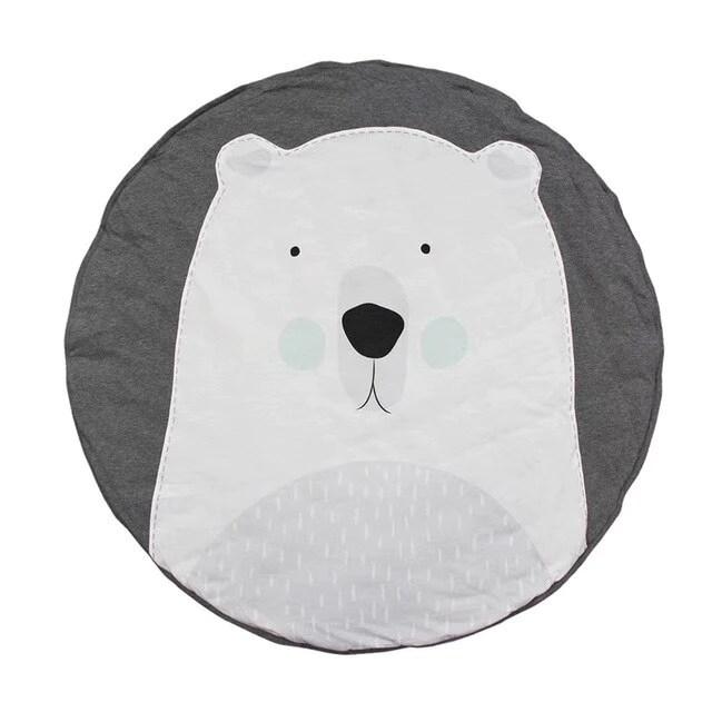 tapis d eveil pour bebe motifs animaux