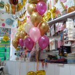 Helium Balloon Bouquet Bq02 Balloon Bouquets Bunches Centerpieces Wall Decor And Arches For All Occasions Funzoop