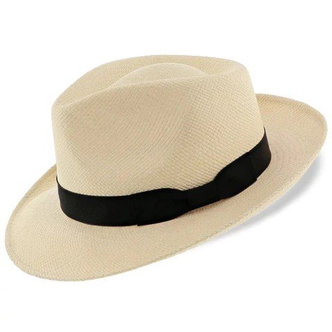 Chapeau de paille rétro