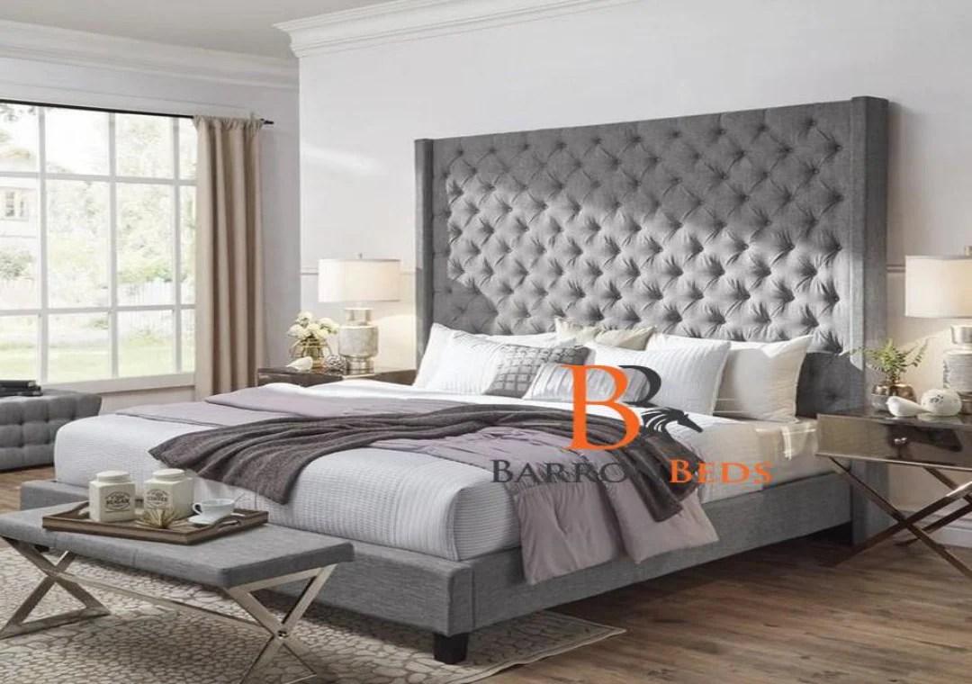 Harold Bespoke Bed Frame With 70 Headboard Only At Barronbeds Barronbeds