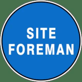 Image result for Site Foreman