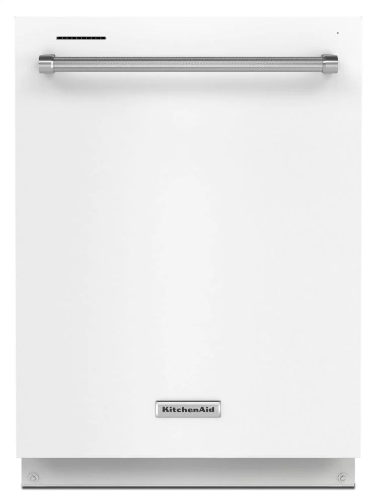kitchenaid kdte204kwh 39 dba dishwasher with third level utensil rack white