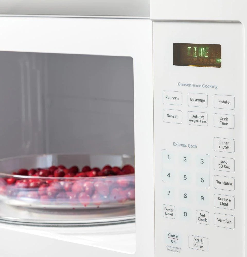 ge appliances jvm3160dfww ge 1 6 cu ft over the range microwave oven