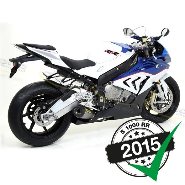arrow competition evo ti exhaust system s1000rr 2015