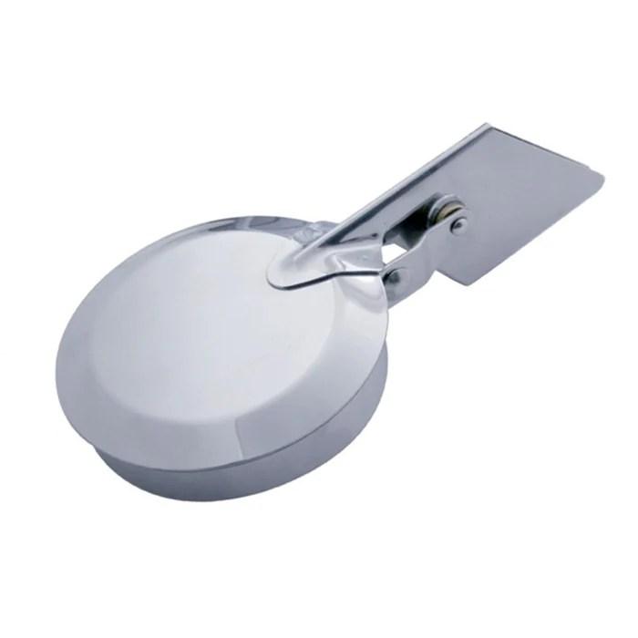 stainless steel rain cap for straight cut exhaust stacks 6 diameter